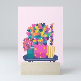 La tortue Mini Art Print
