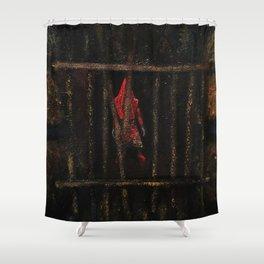 Pyramid Head (That Red Pyramid Thing) Shower Curtain