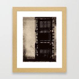 bridge to a simpler time Framed Art Print