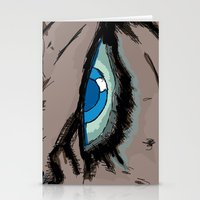infamous Stationery Cards featuring Comic eyes (infamous) by  Steve Wade ( Swade)