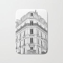 Parisian Facade Bath Mat
