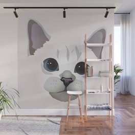 Cat Eyes 2 Wall Mural