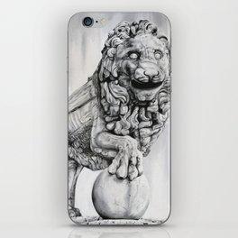 Medici Lion Painting iPhone Skin