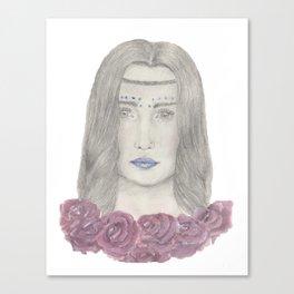 Festival girl Canvas Print