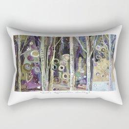 Daily Affirmation Mantra Rectangular Pillow