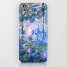 Water Lilies Monet Slim Case iPhone 6s