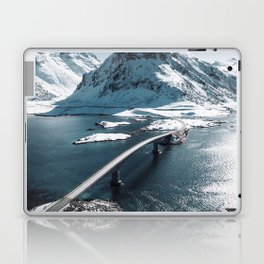 lofoten bridge Laptop & iPad Skin