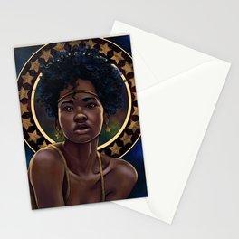 Nouveau  Stars Stationery Cards