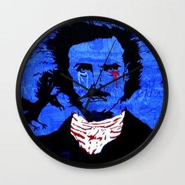Edgar Allen Poe Wall Clock