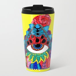 All Seeing, Complete Being Metal Travel Mug