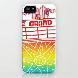 Grand Lake Theatre Oakland iPhone Case