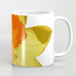 Spring Daffodil Vector Isolated Coffee Mug