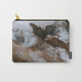 Kerlingjarfjöll smoky Mountains in Iceland - Landscape Photography Carry-All Pouch