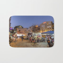 Istanbul At Night Bath Mat