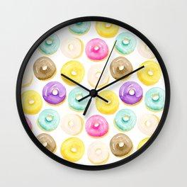 Doughnuts For Days II Wall Clock