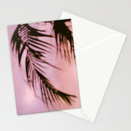 Costa Rica pink and purple palm | Abstract botanical photography | Pastel travel photography Stationery Cards