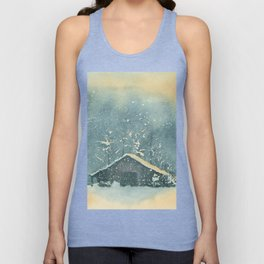 Hope Amidst the Storm–Watercolor Unisex Tank Top