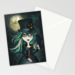 Raven's Moon Stationery Cards