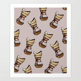 Coffee connoisseur Art Print