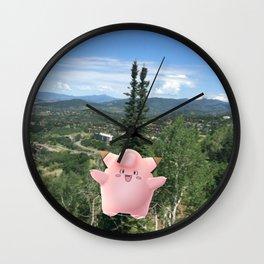 Clefairy Wall Clock