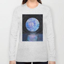 Full Moon Reflections Long Sleeve T-shirt