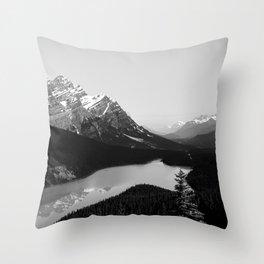 Peyto Lake Alberta Travel Throw Pillow