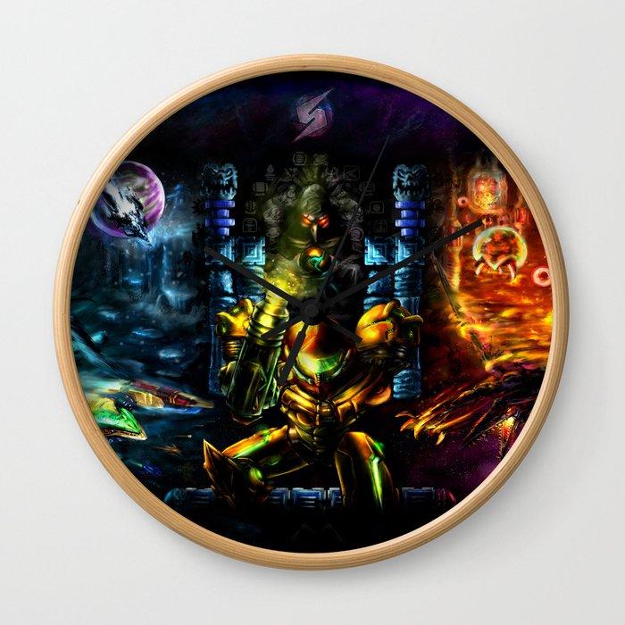 Metroid: 25 Years Wall Clock