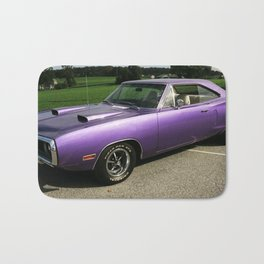 1970 Plum Crazy Purple MOPAR Coronet Bath Mat