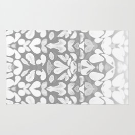 Winter has Come, Silver Romantic Nights Rug