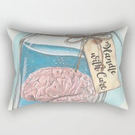 Handle with Care Rectangular Pillow
