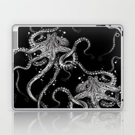 Octopus (black) Laptop & iPad Skin