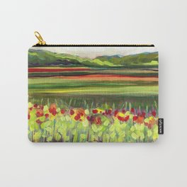 Wildflower Meadow Carry-All Pouch