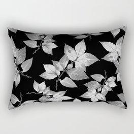 Elegant Leaves Rectangular Pillow