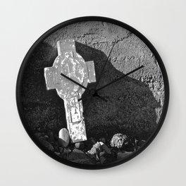 Gone but Not Forgotten Wall Clock