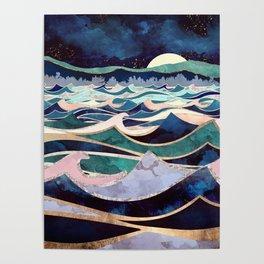 Moonlit Ocean Poster
