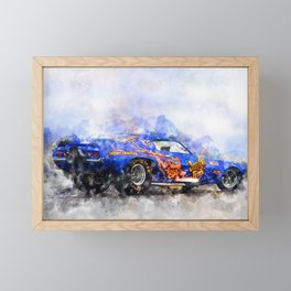 Jim Liberman, Jungle Jim Framed Mini Art Print