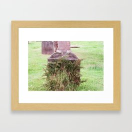 Fossoway Kirkyard, Crook of Devon, Scotland Framed Art Print
