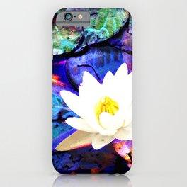 Electrifying Lotus iPhone Case