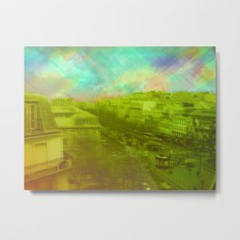 PASSION READY DISTRICT Metal Print