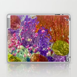 Painted Fields of Flowers Laptop & iPad Skin