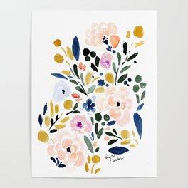 Sierra Floral Poster