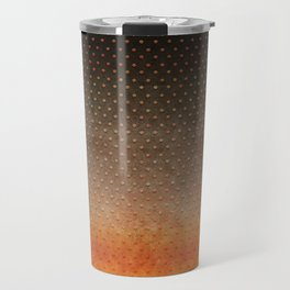 """Sabana Night Degraded Polka Dots"" Travel Mug"