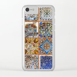 Oh Gaudi! Clear iPhone Case
