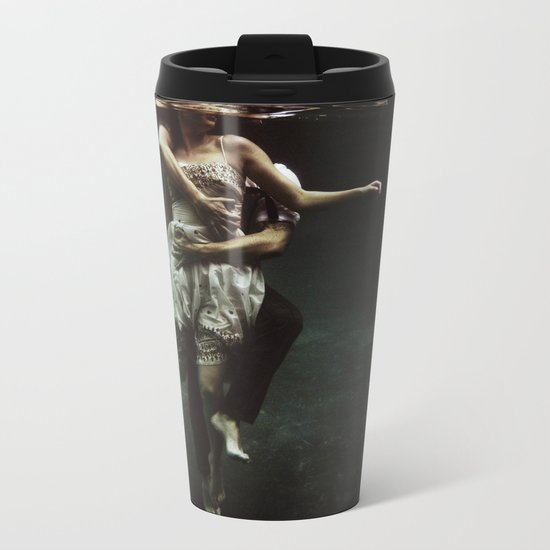 abyss of the disheartened : V Metal Travel Mug