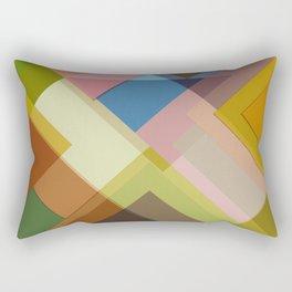 Abstract Composition 634 Rectangular Pillow