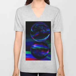 The Light Painter 15 Unisex V-Neck