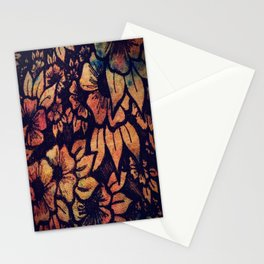 Rainbow Florals  Stationery Cards