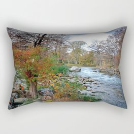 The Guadalupe River Rectangular Pillow