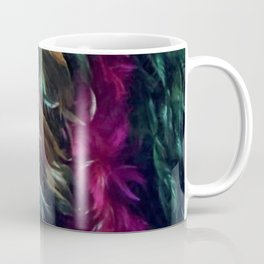 Girls Night Out Feather Boas Coffee Mug