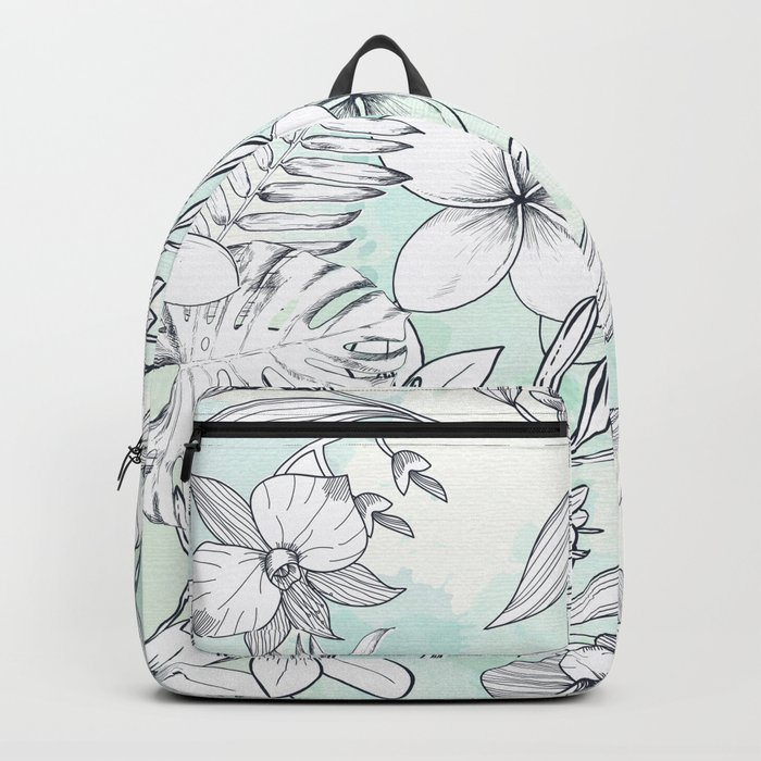 Floral Sketches Backpack